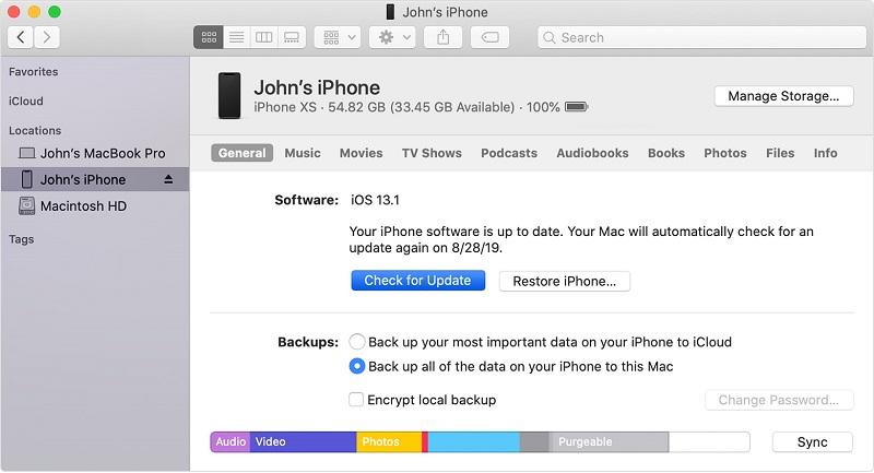 آموزش آپدیت آیفون با آیتونز و بدون iTunes