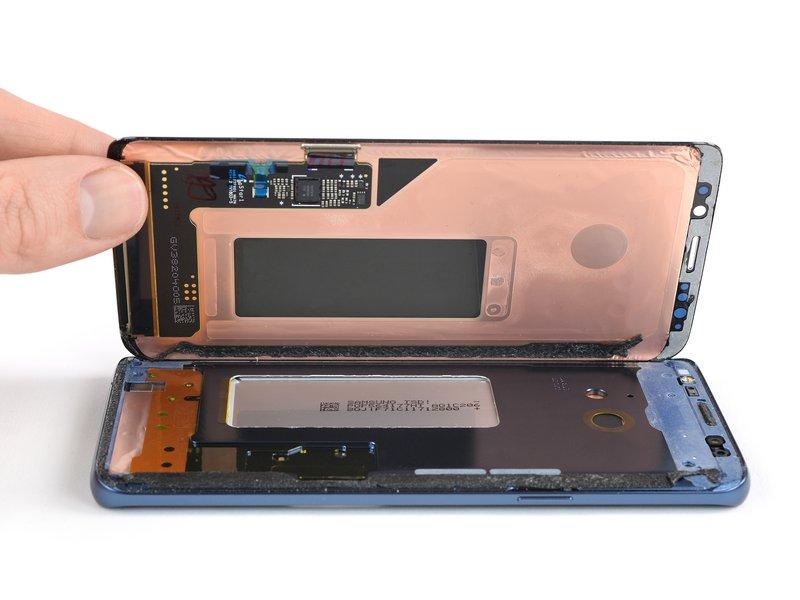 تعویض ال سی دی سامسونگ گلکسی S9