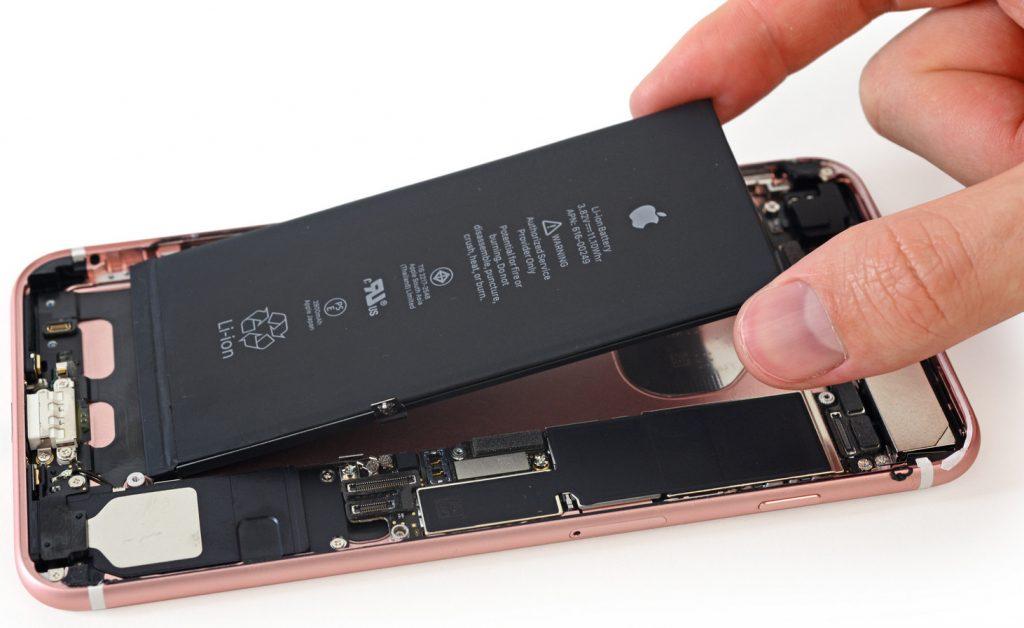 تعویض باتری آیفون 7 با ضمانت در آداک فیکس