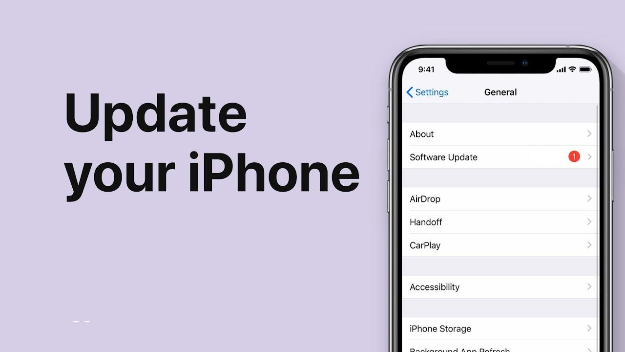 حل مشکل آپدیت نشدن آیفون و iOS